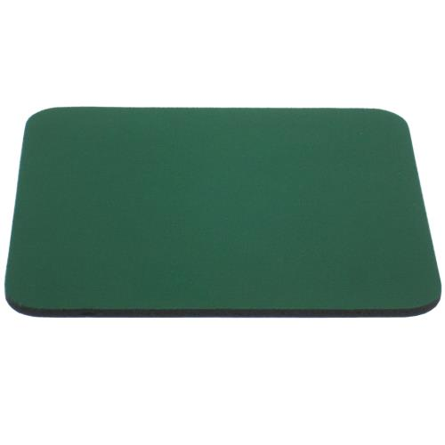Mouse Pad Rubber Back Green